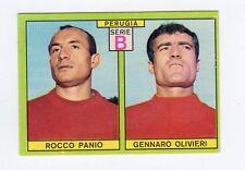figurina CALCIATORI PANINI 1968-69 OP PERUGIA PANIO, OLIVIERI