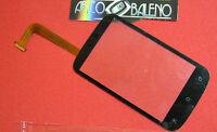 Vetro + TOUCH SCREEN per HTC DESIRE C A320E Lcd Vetrino Nero display Nuovo