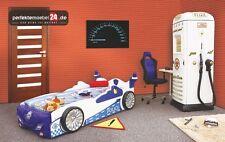 PM_PC07 Polizeiwagen-,  Auto-, Kinderspiel-, Spielbett ink.Matratze & LED