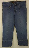 Tolle MAC Stretch Hüft Jeans, 3/4 Hose Modell JESSY Baumwolle blue denim Gr. 36