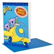 Cartes de vœux et papeterie bleus anniversaire