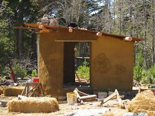 Cob Building Clay Oven 8 Books CDROM Pise Chalk Clay Earth Cottage Shelter House