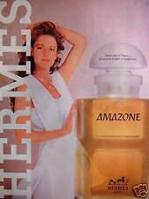 PUBLICITÉ 1981 EAU DE COLOGNE HERMES AMAZONE - ADVERTISING