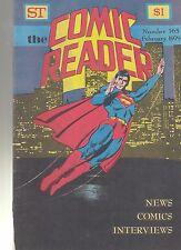 COMIC READER #165 fanzine (1979) Superman cover Paul Levitz interview