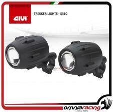 S310 Givi Trekker Lights additional halogen spotlights handlebar control