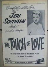 Jeri Southern 1957 Ad- The Touch Of Love  The Devil's Hairpin  Decca