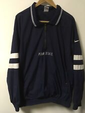 NIKE Penn State Nittany Lions 1/2 Zip Windbreaker Jacket Men's XL