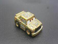 DISNEY PIXAR CARS DIE CAST MINI RACERS GOLDEN CHICK HICKS LOOSE FREE SHIP $15+