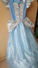 Disney Princess Cinderella Dress Age 9-10 BNWOT