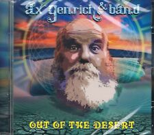 ax genrich & band - out of the desert ( D 2018) - CD
