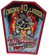 Ecusson COLLECTION POMPIERS NEW YORK LADDER ENGINE 10