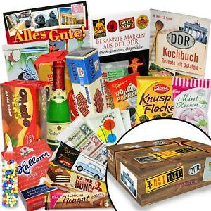 Süßigkeiten Box mit DDR Ware - lustiges Geschenk zum mit DDR Waren 2934