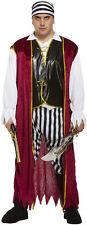 Buccaneer Pirate Man Mens Halloween Fancy Dress Costume Size XXL