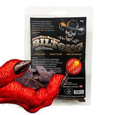 Chilli Wizards 100% Carolina Reaper Chilli Beef Jerky - Biltong Buy 2 Get 1 FREE