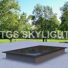 Flat Roof Skylight Rooflight Triple Glazed 1000mm X 2600mm - all sizes