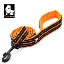 Truelove dog leash with metal hook, reflective lead, padded dog training leash