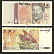 PORTUGAL 10000 10,000 Escudos, 1998, P-191c, UNC