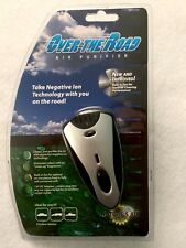 Nature's Air Travel Air Purifier Over-the-Road Plug-In Ionic Dashboard Fan New