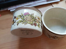 WONDERFUL ROYAL DOULTON SMALL BOWLS WITH FLOWER PATTERN