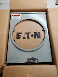 NEW EATON 125 AMP METER SOCKET 600 VAC 1 PHASE 4 JAW RINGLESS 1008947CH