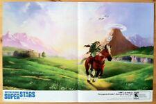 Zelda Ocarina of Time Mini Poster Ad Print Nintendo 3DS