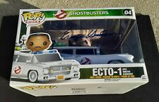 GHOSTBUSTERS Ecto-1 Funko Pop Rides Figure SIGNED BY ERNIE HUDSON Winston PROOF