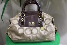 Coach Op Art 12943 Large Sabrina Satchel Bag (p800)