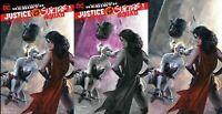 Justice League vs Suicide Squad 1 DC Rebirth Dell'Otto Rare 3 Variant Set