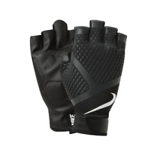 New NIKE MEN'S RENEGADE TRAINING GLOVES Weights Gym MEDIUM