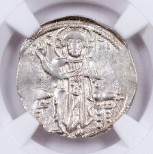Byzantine Silver Andronicus II Basilikon Portrait Jesus NGC XF SKU60805