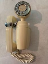 Vintage Automatic Electric Co AECO Rotary Phone Space Saver Wall Mount 60s