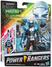 Power Rangers Beast Morphers Silver Ranger Action Figure 15cm