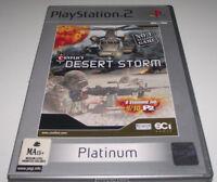 Conflict Desert Storm PS2 (Platinum) PAL *Complete*