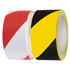 Hazard Warning Tape Self Adhesive Roll Marking Barrier Safety Danger Caution DIY
