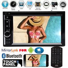 Fit Chevy Colorado Trailblazer Venture 2 Din CD DVD Bluetooth Car Stereo Radio