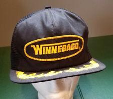 Vtg WINNEBAGO Hat Snapback Trucker Cap Gold Leaf Mesh RV Camper K-Products USA