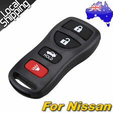 4 Button Keyless Entry Remote Key Clicker Transmitter Control for Nissan Car AU