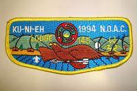 OA KU-NI-EH LODGE 145 DAN BEARD COUNCIL PATCH BIRD NOAC 1994 DELEGATE FLAP