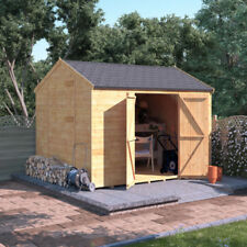 10x8 Wooden Shed Workshop BillyOh Windowless Expert Tongue & Groove Reverse Apex
