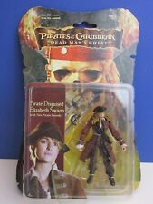 pirates of the Caribbean ELIZABETH SWANN ACTION FIGURE dead man chest ZIZZLE 83B