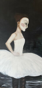 Ballerina Painting Original