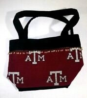 Texas A&M Women's Handbag Size Small Pendant Trim on Top Magnetic Snap