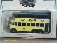 Lledo LP41027,  Karrier E6 Trolley Bus, Whitehall, Anadin Tablets, 1931 - 1991