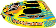 New listing Wow Macho 1-3 Person High Performance Towable Inflatable Pull Tube Brand New In