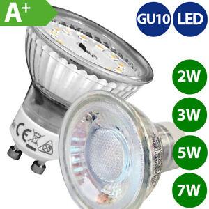 GU10 LED Spot Reflektor Strahler Lampe 2W 3W 5W 7W dimmbar warmweiß neutralweiß