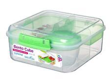 Sistema Bento Cube case pour aller avec des fruits yaourts Snack Pot Déjeuner Pack BPA Free Kid
