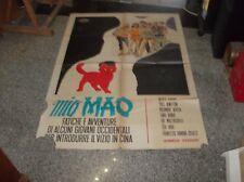 MIO MAO manifesto 2F originale 1970 FERRARI COLUZZI