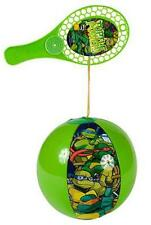 12 NEW NINJA TURTLE PADDLE PUNCH BALL  play toy balls TV movie character INFLATE