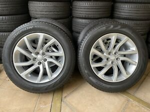 """18"""" GENUINE OEM LAND ROVER DISCOVERY SPORT 5 WHEELS 2014-20 & TYRES (PCD:5x108)"""