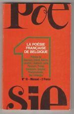 La Poésie Française de Belgique Poésie 1 N°18